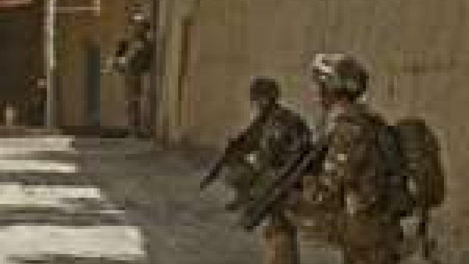 Ferito un soldato italiano in Afghanistan