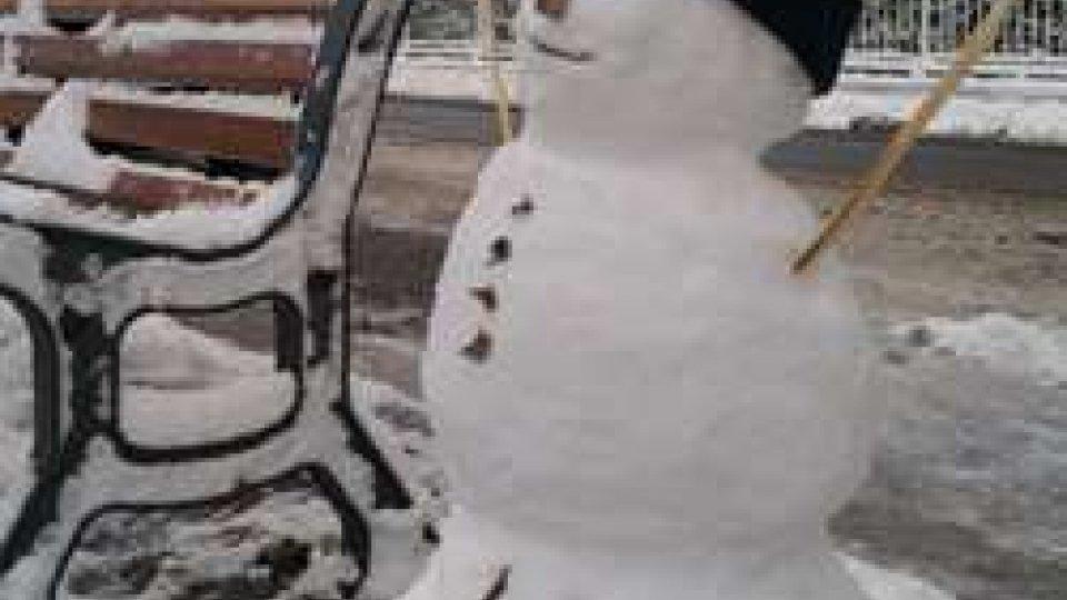 """La prima """"vera"""" neve dell'anno porta con sé il primo pupazzo di neve?"""