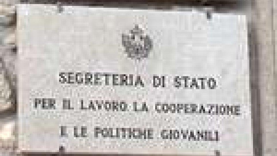 San Marino - Si decide sul dopo-Marcucci alla Segreteria al Lavoro