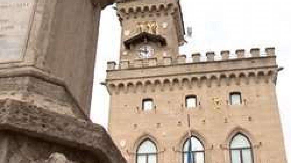 Palazzo PubblicoIl terremoto ISS al centro della riunione di inizio settimana