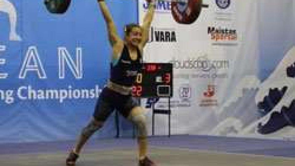 Pesi. Tartaglia 7° ai Campionati Europei Under 23