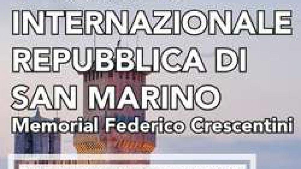 """Si apre il torneo internazionale """"Federico Crescentini"""""""
