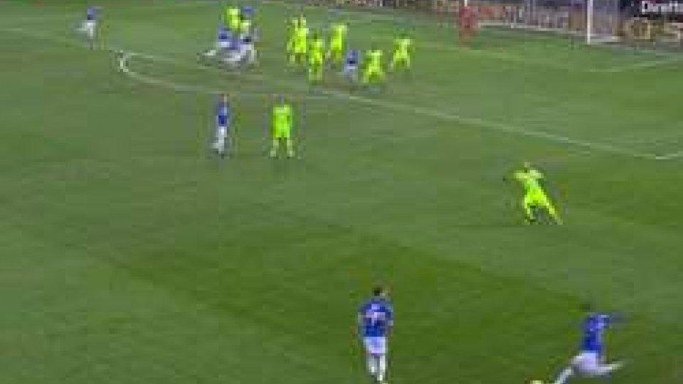 Coppa Italia, tutto facile per la Sampdoria