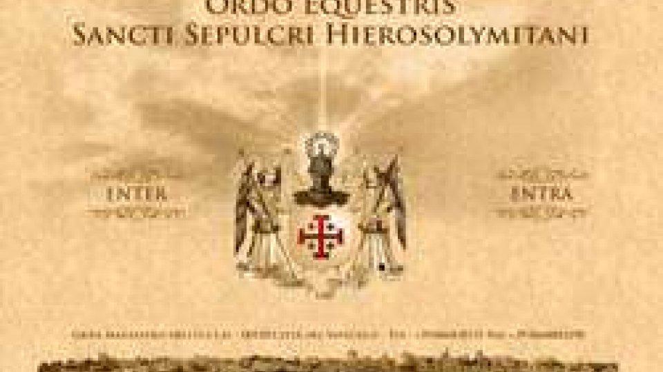 Ordine del Santo Sepolcro di Gerusalemme in visita ufficiale nella Repubblica San Marino