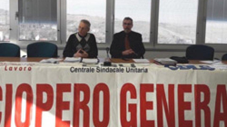 Sciopero generale del 14 dicembre: appello alla partecipazione dei Segretari CSU
