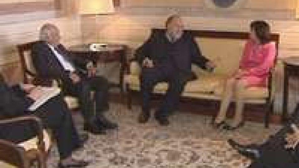 Il Segretario Mularoni incontra il presidente dell'Osce