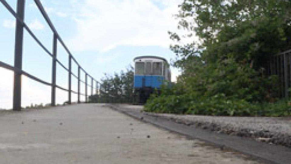 Il percorso del treninoUna pista ciclabile sulle tracce dei binari della tratta Rimini-San Marino
