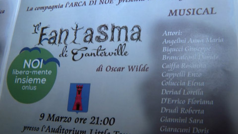 musicalIL FANTASMA DI CANTERVILLE in musical al LITTLE TONY