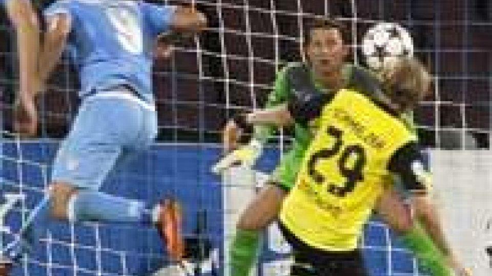 Champions League: Napoli-Borussia 2-1; Milan-Celtic 2-0