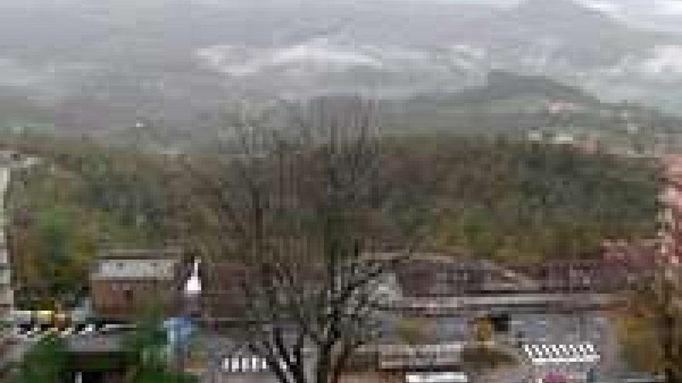 San Marino schiva i danni del maltempo. Pietrisco dalla Rupe sulla Sottomontana
