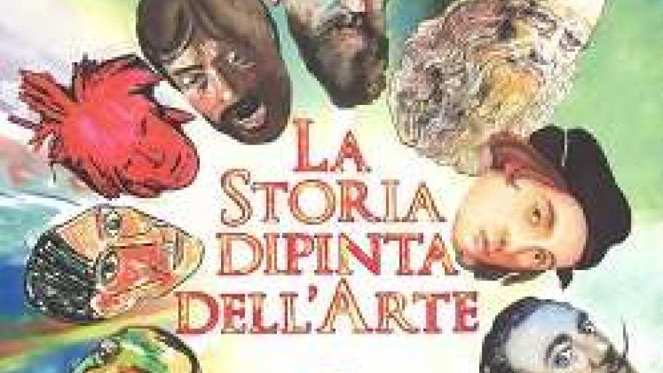 La storia dipinta dell'arte
