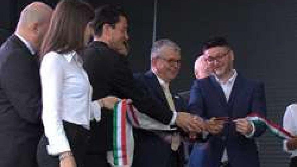 """L'inaugurazione della nuova sede della """"Top Automazioni""""Eccellenze: Stefano Bonaccini, """"per il quarto anno consecutivo E.R. è Regione che cresce di più"""""""