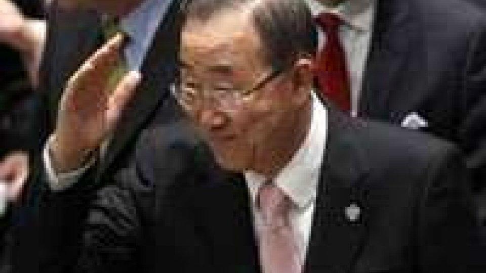 """Congo, Ban Ki-moon: la missione """"resterà a Goma"""""""