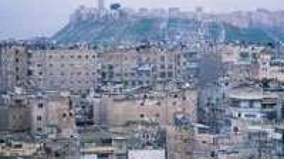 Siria: Esplosioni ad Aleppo, 40 morti