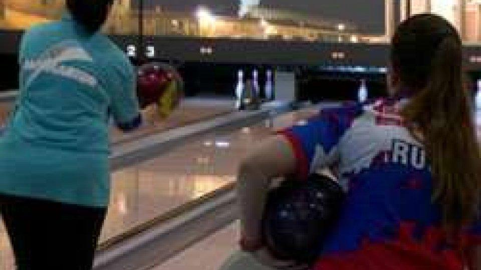 Bowling, a San Marino si gioca la Coppa dei Campioni: tra le donne in testa la Persson Planefors