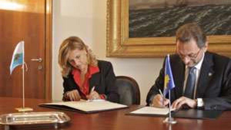 San Marino - Sottoscritto accordo diplomatico con il Kosovo