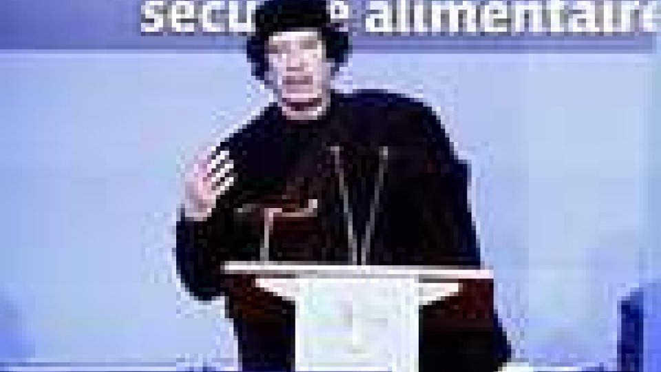 Libia, Gheddafi è tornato a farsi sentire