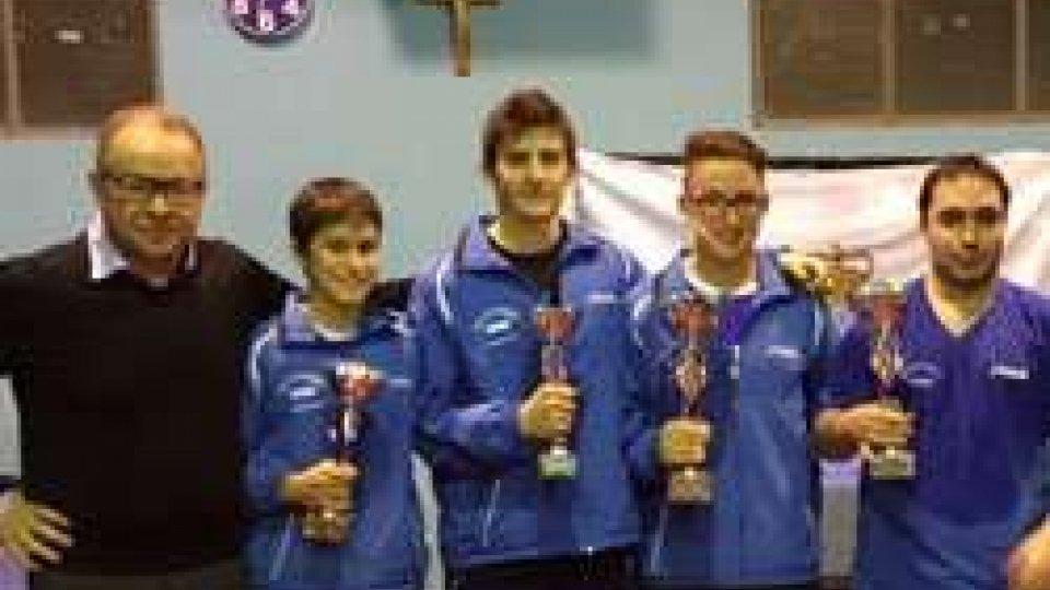 Tennistavolo: Davide Muccioli e Letizia Giardi sono i Campioni Sammarinesi 2015