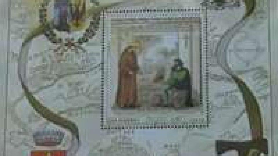 San Marino e San Leo: un francobollo per gli 800 anni di San FrancescoSan Marino e San Leo: un francobollo per gli 800 anni di San Francesco