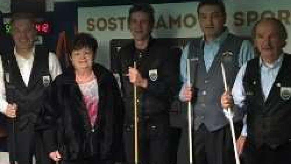 Biliardo: 4° Trofeo Walter Santi