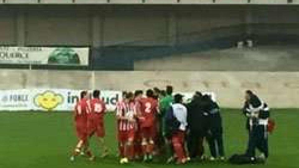 Serie D recuperi: tutto facile per il Forlì, crolla l'Altovicentino