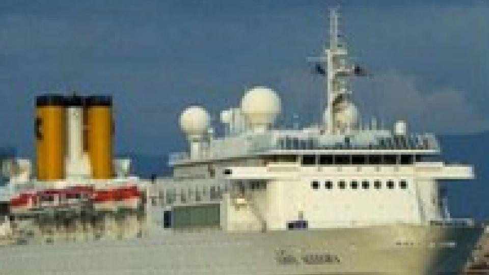 Incendio a bordo di una nave Costa al largo delle Seychelles