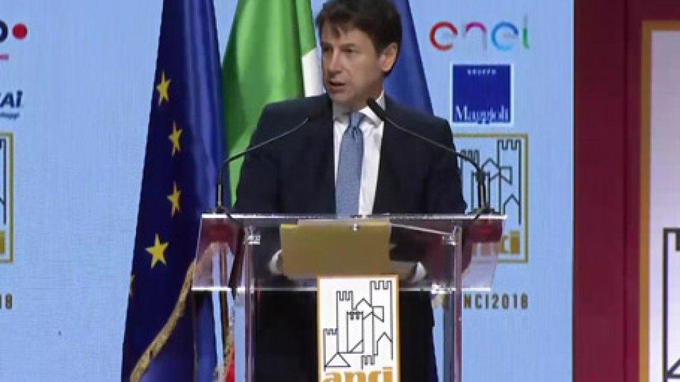 Giuseppe Conte a Rimini