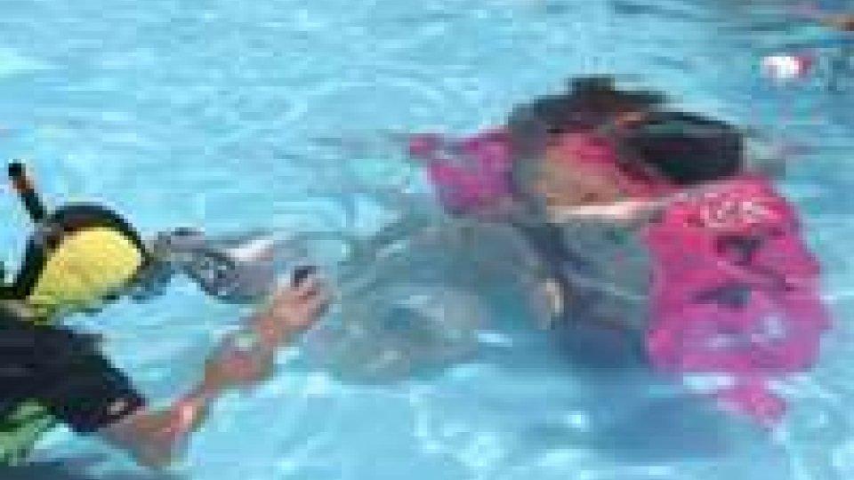 Rimini: torna la gara del bacio sott'acqua ad Aquafan