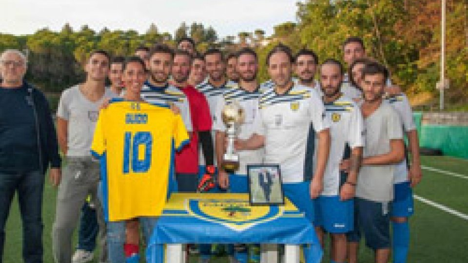 Faetano vincitore del trofeo Della Valle
