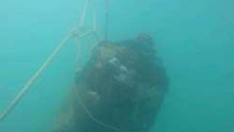 Trovato ordigno bellico nelle acqua del litorale di Cattolica