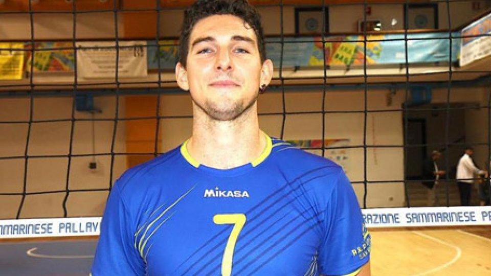 Nicolas FarinelliVolley: giornata da incorniciare per le squadre sammarinesi