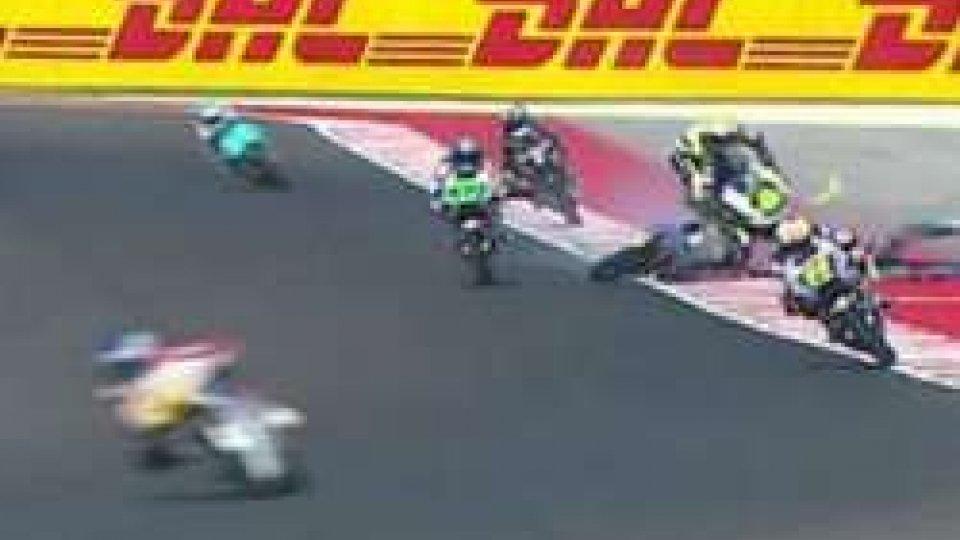 Gran Premio di San Marino: incidente in Moto3, prima bandiera rossa a Misano