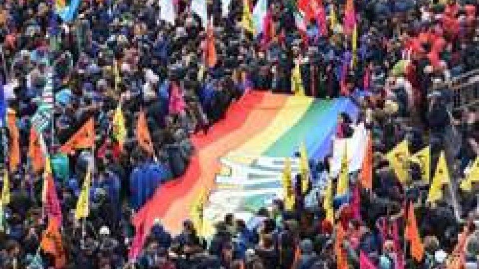 Foto Ansa - Manifestazione a Foggia