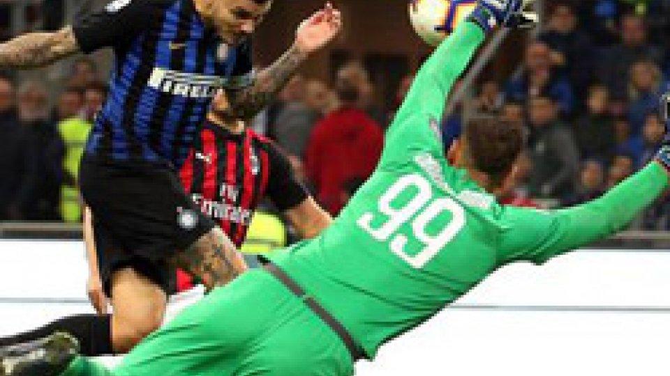 il gol di Icardi @ansaSerie A: Inter vince il derby per 1 a 0