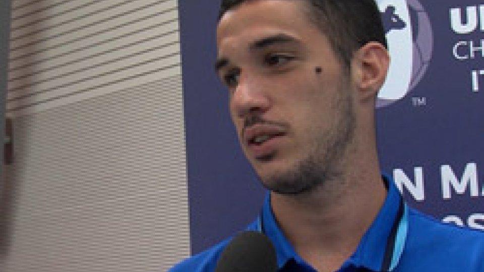 """il capitano CensoniNazionale U21, il capitano Censoni: """"Cerchiamo di fare bene, magari anche risultato"""""""