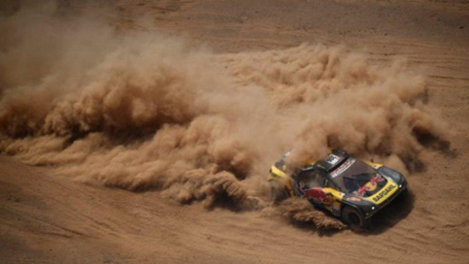 Dakar, quinta tappa: Loeb domina nelle auto