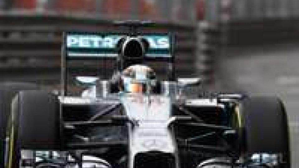 F1: Monaco,  3° libere a Hamilton, quinta e sesta le Ferrari