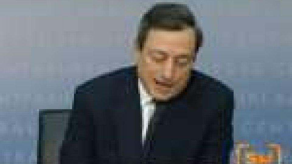 BCE: primo consiglio direttivo presieduto da Mario Draghi