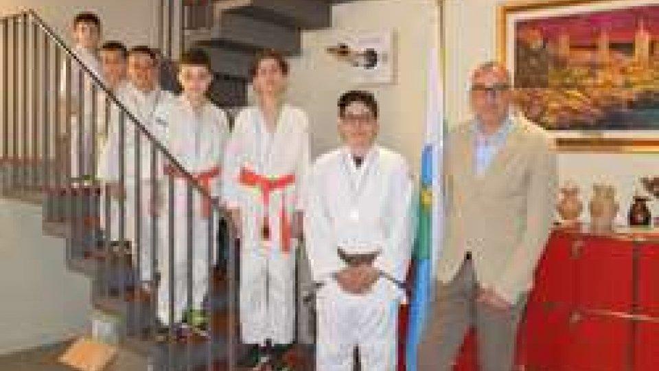 """Consegnato il """"1°Trofeo di Judo dei Castelli a squadre"""" alla Giunta di Castello di Domagnano"""