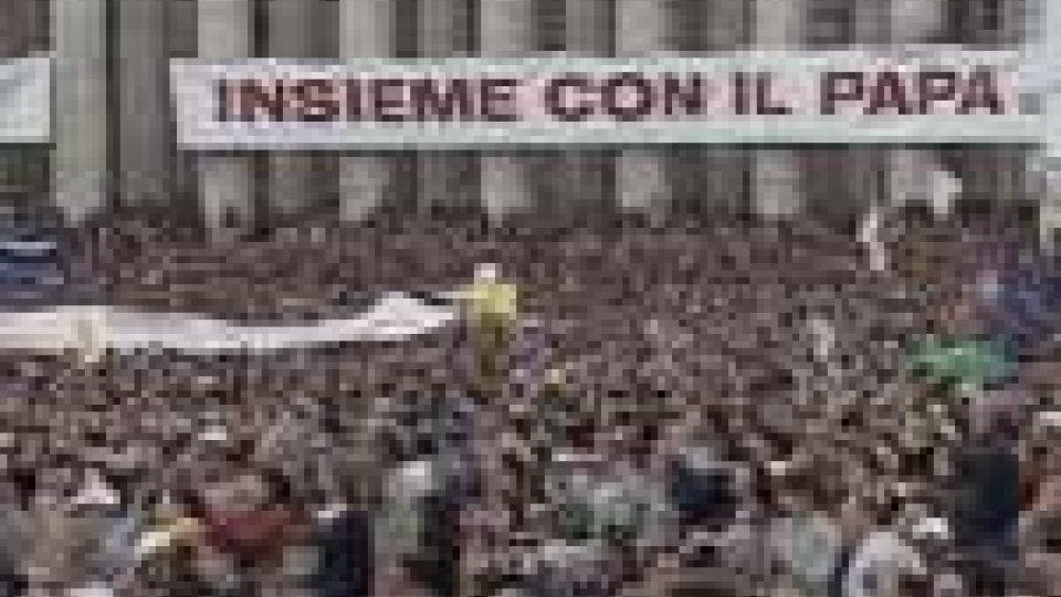 Le Associazioni laicali cattoliche in piazza per il Papa
