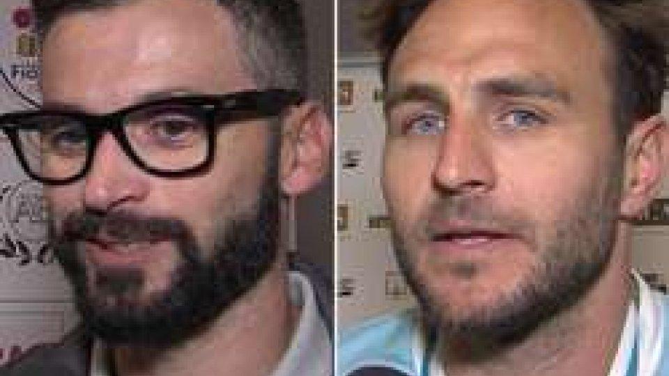 Marco Martini e Michele SimoncelliTre Penne - La Fiorita: le INTERVISTE post partita