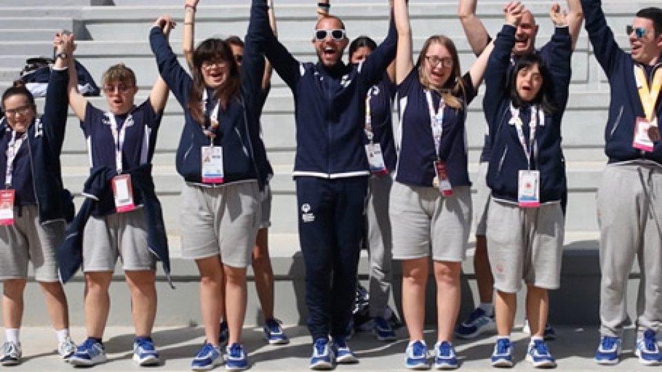 I ragazzi della Federazione Sport SpecialiSpecial Olympics: ultimo giorno di gare ai Mondiali