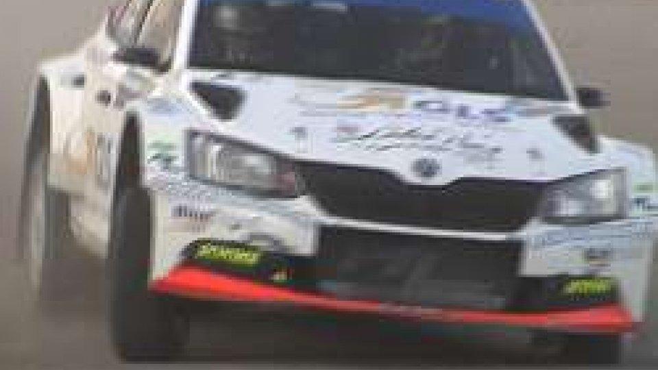 Prosegue il San Marino RallyRally di San Marino: Daniele Ceccoli balza al comando