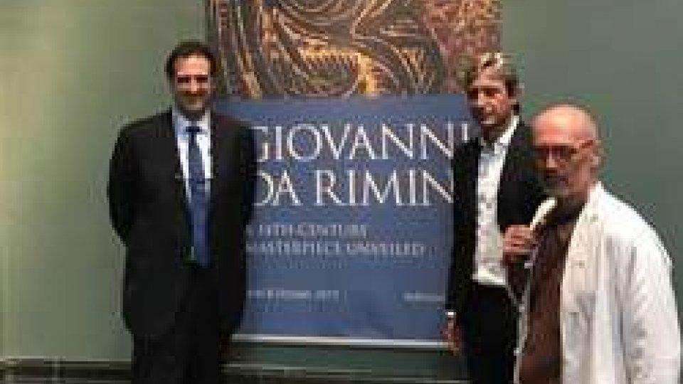 Rimini si presenta alla National Gallery in occasione della mostra dedicata alla scuola del Trecento riminese