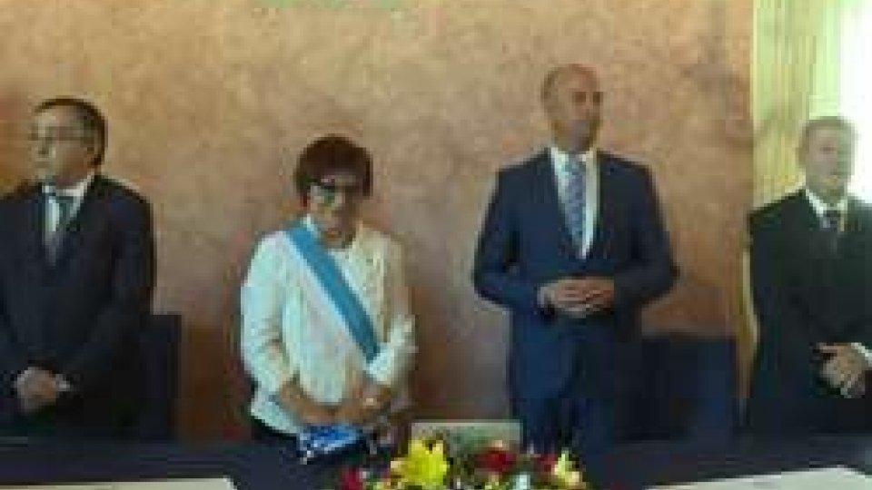 La cerimonia solenneMezzo secolo di amicizia: rinnovata solennemente la Carta del Gemellaggio tra San Marino e Arbe