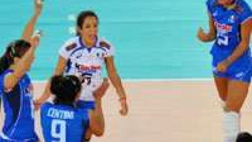 Volley, Mondiali donne: l'Italia vola, 3-1 all'Azerbaigian