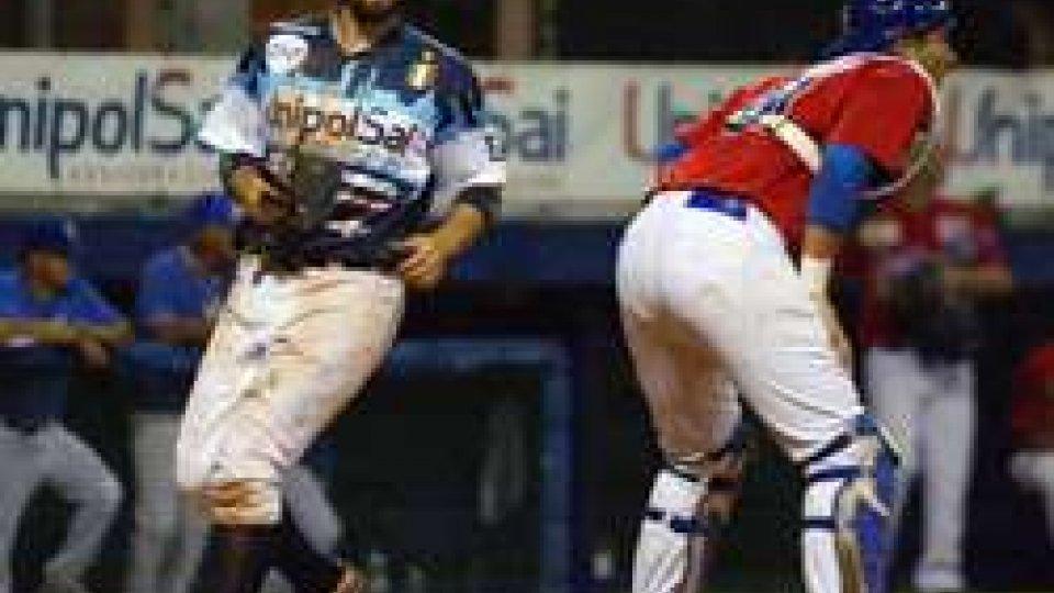 Baseball: gara2 a Bologna che torna in testa al campionato, T&A ko 10-3Baseball: gara2 a Bologna che torna in testa al campionato, T&A ko 10-3
