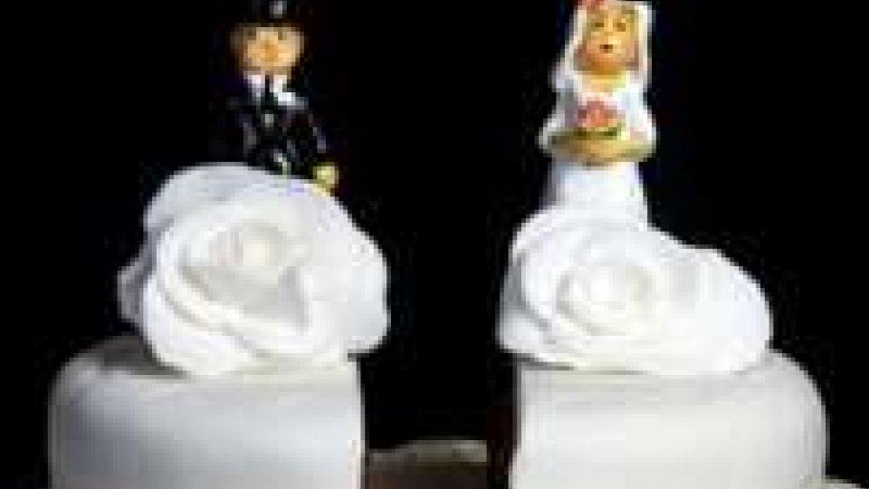 Aumentano le cause per annullamento matrimonio: 3 da San Marino