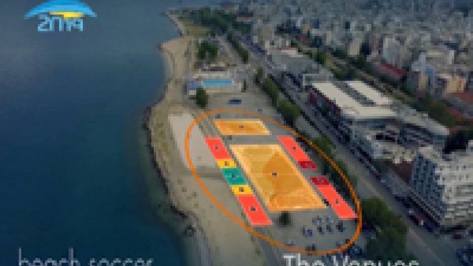 Mediterranean Beach Games a PatrassoTra un anno i Mediterranean Beach Games a Patrasso