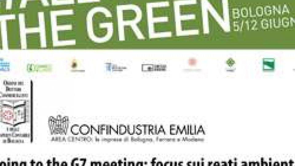 """Il 6 giugno alle 14.30 in Sala Borsa il convegno """"Going to the G7 meeting"""" con il Ministro Galletti"""